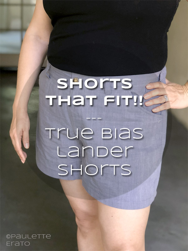 True Bias Lander shorts in light blue hero