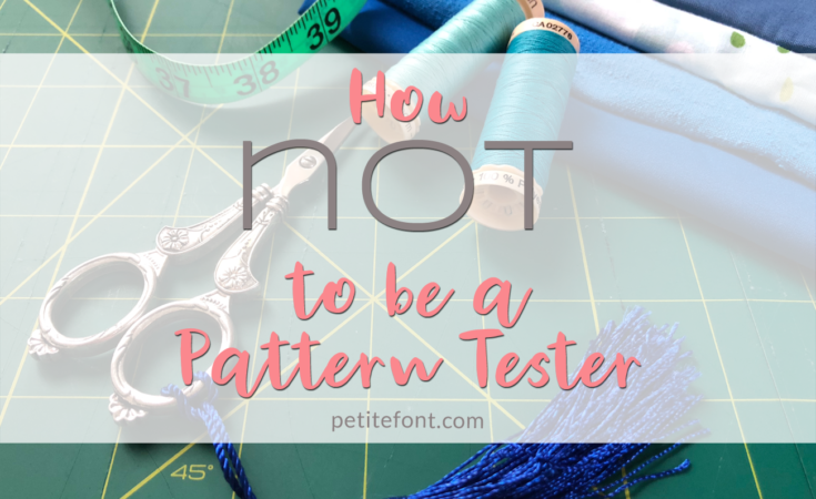 How not to be a pattern tester image