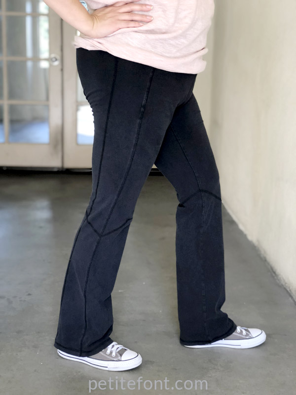 Shorten yoga pants - original full length