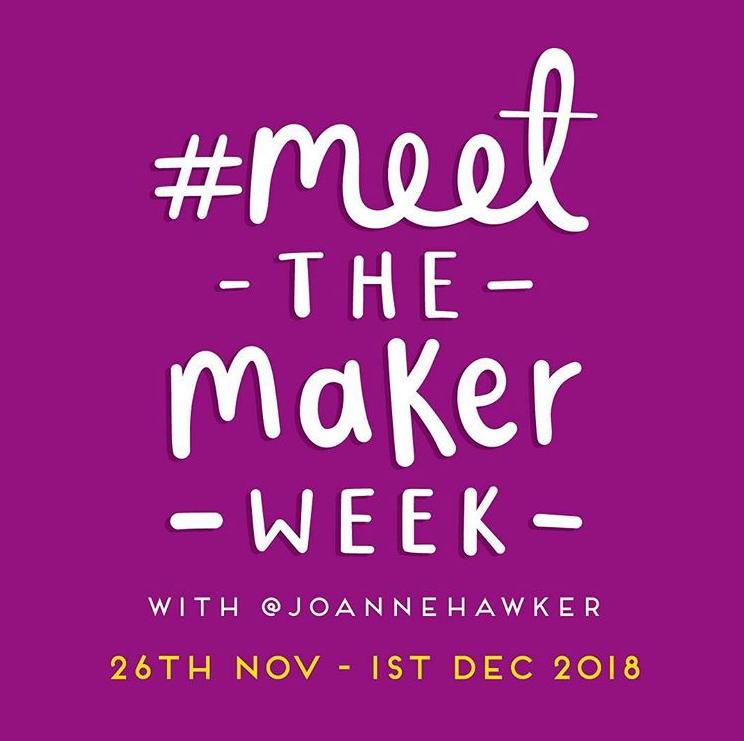 #MeetTheMaker November