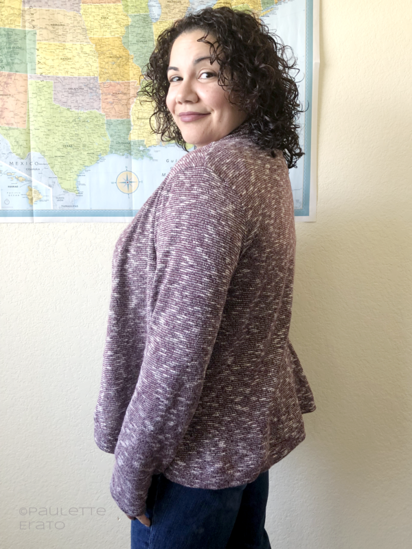 Top 5 Sewing Patterns 2018: Rebecca Page Circle Cardigan