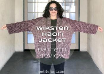 Wiksten Haori Jacket Pattern Review