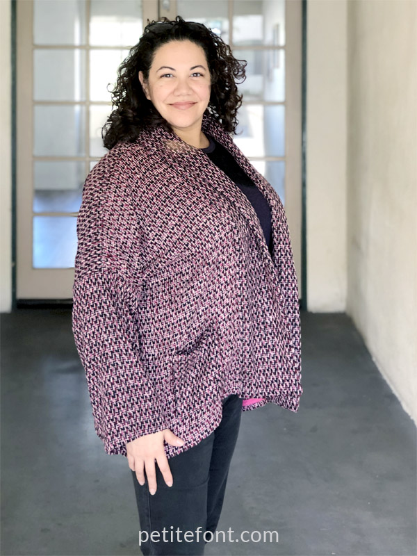 Wiksten Haori Jacket Pattern Review front side view