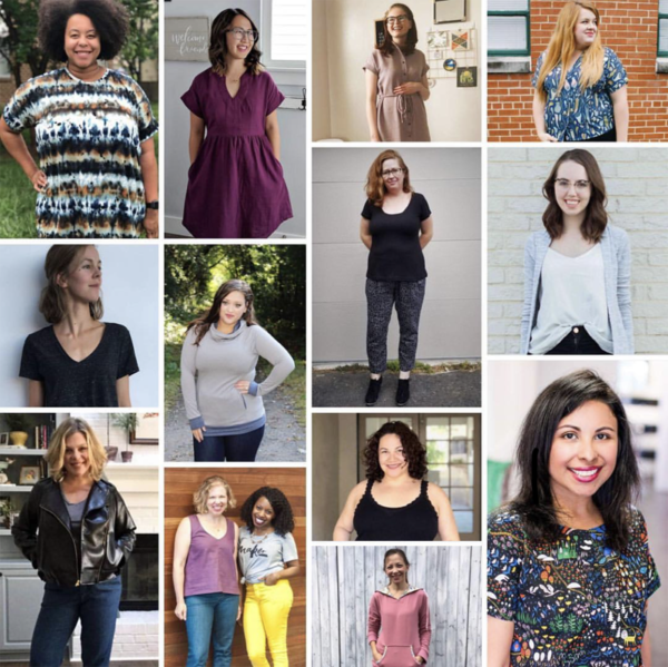 2019 Sew My Style Leaders