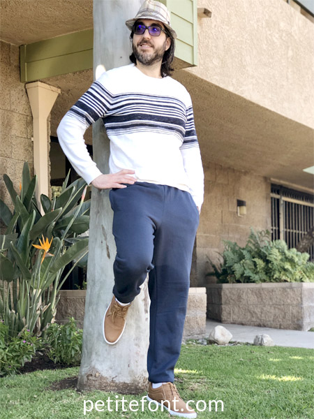 Simplicity 8268 Pattern Review: Joggers for Men