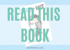READ THIS BOOK: Create or Hate by Dan Norris. A how-to guide for breaking through creative blocks and starving self-doubt.