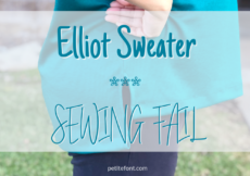 Elliot Sweater Pattern Review: A Sewing Fail