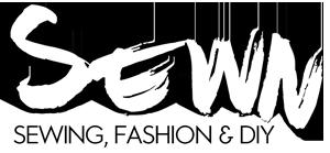 Sewn Magazine Logo, October Sew My Style 2020 Sponsor