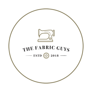 The Fabric Guys logo, July sponsor for Sew My Style 2020