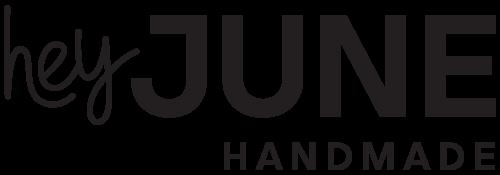 Hey June Handmade logo