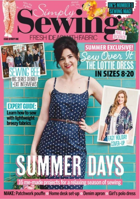 Cover image of Simply Sewing magazine issue 71